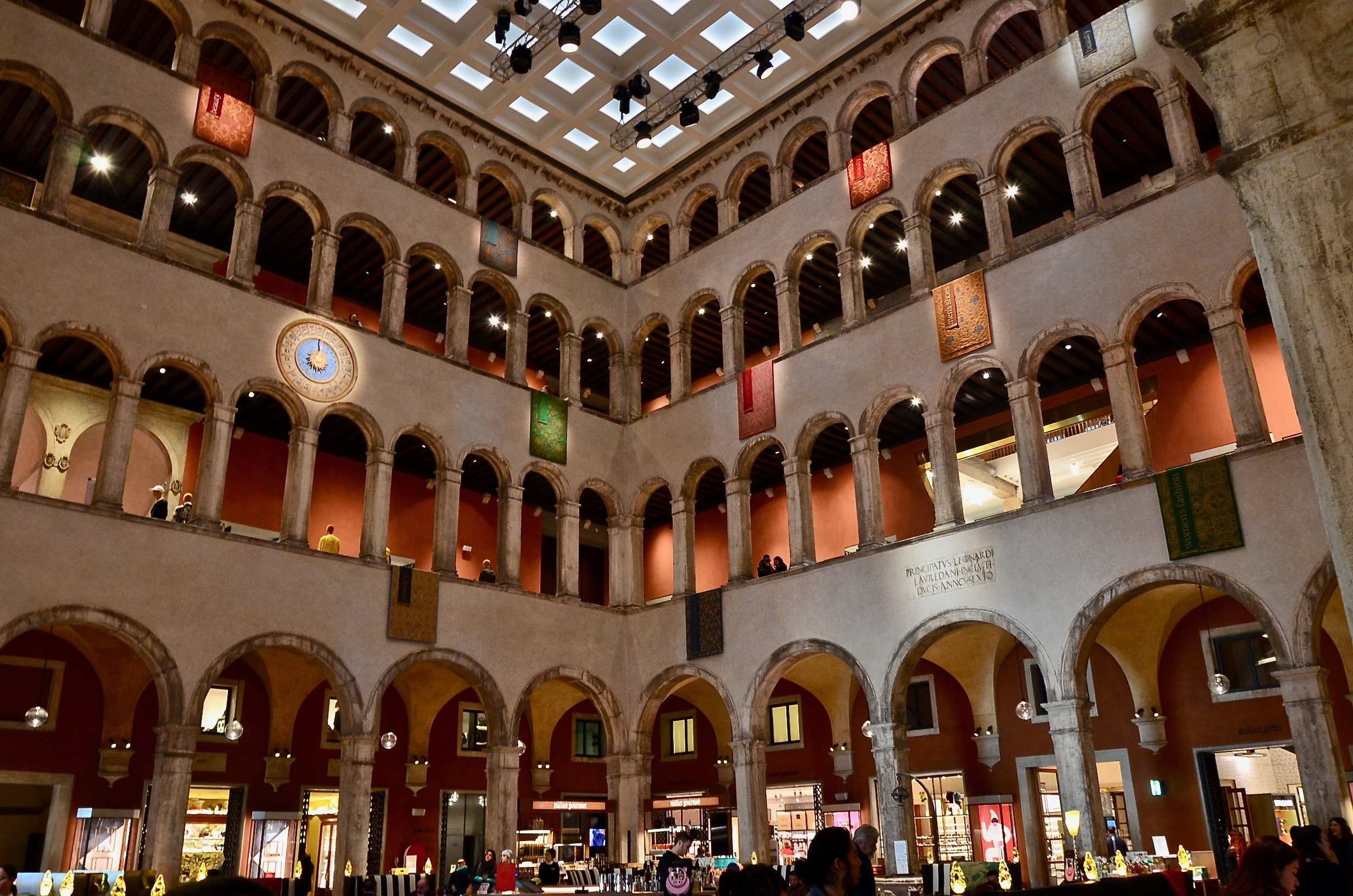 A shot of Fondaco dei Tedeschi, the new mecca for luxury shopping in Venice. Astonishing place.  Photo Credit: @LucaMontini