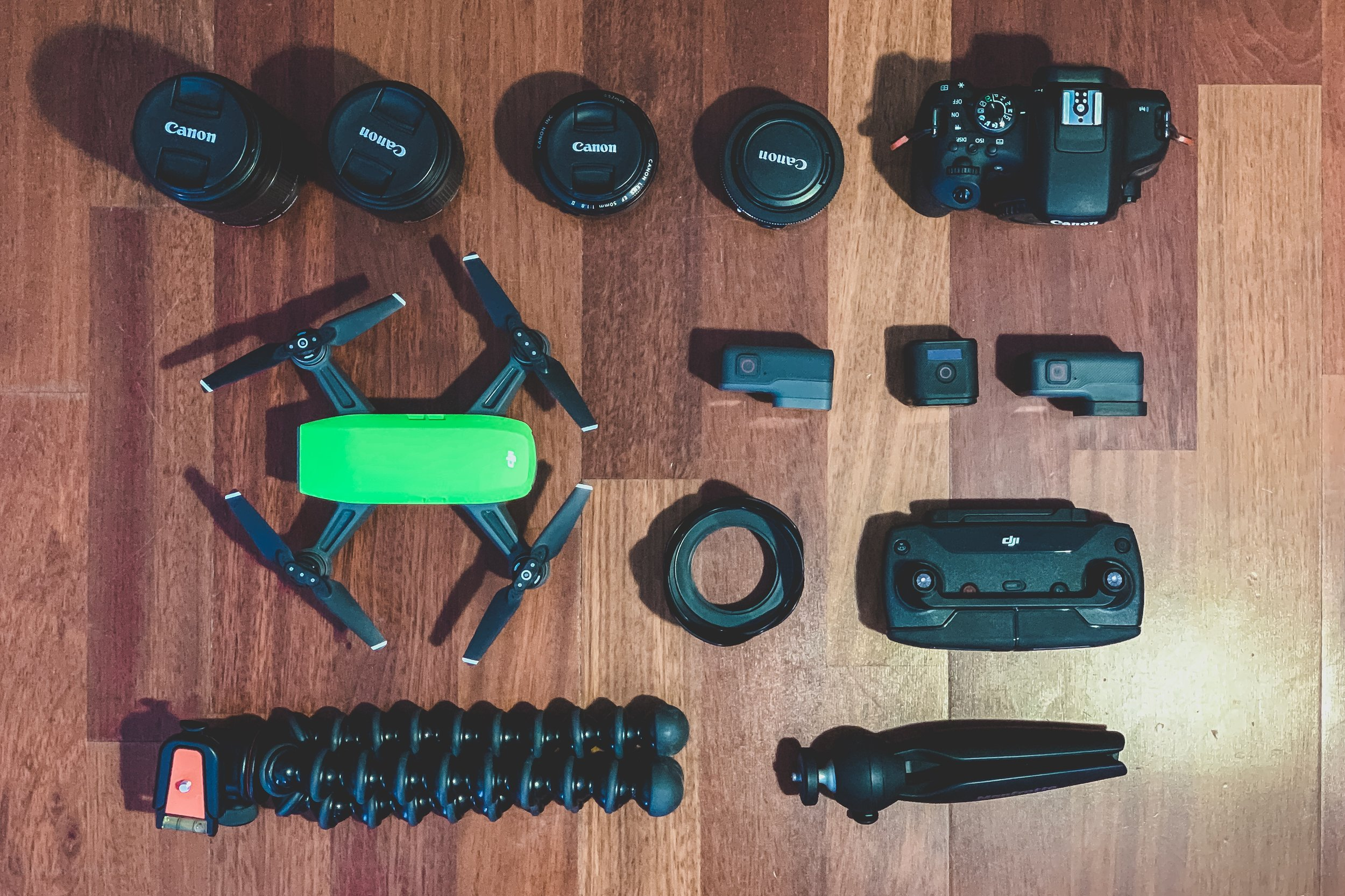 Gear choices - My go-to camera gear for capturing more cinematic footage in run&gun projects.