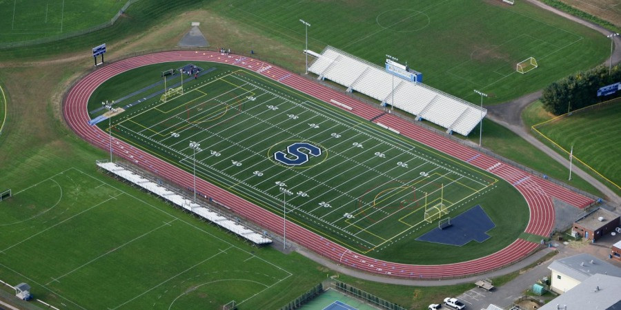 """Southington High School - Southington, CT""""The professionalism, the diligence, and consistency of work were evident from start to finish. It is without hesitation and with my full support that I would recommend National Lawn Sprinklers to Install an irrigation system at any facility.""""-SHS Director of Athletics"""