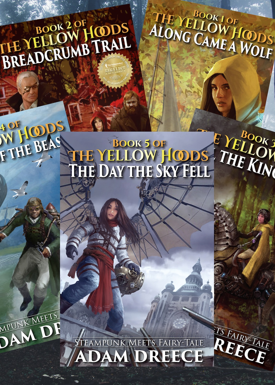 Author - Fantasy, science fiction, fairy tales, and space opera, my books will capture the heart of kids and adults alike. Discover The Yellow Hoods, The Wizard Killer, and all the rest of my books (released and to come). PLUS free samples! And who doesn't love a free sample?.