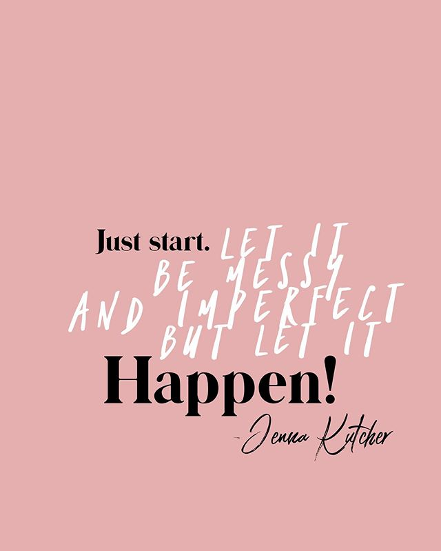 Sticking with this weeks theme of being in the moment and taking those first steps... Let's remember we don't have to do it alone.  We can be messy and imperfect together! Encouraging each other and praising each other's success!  So, just get started Babe! We're here for you! #theentrepreneurbabes