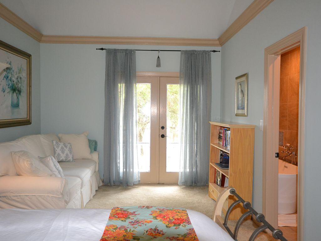 Master Balcony French Doors