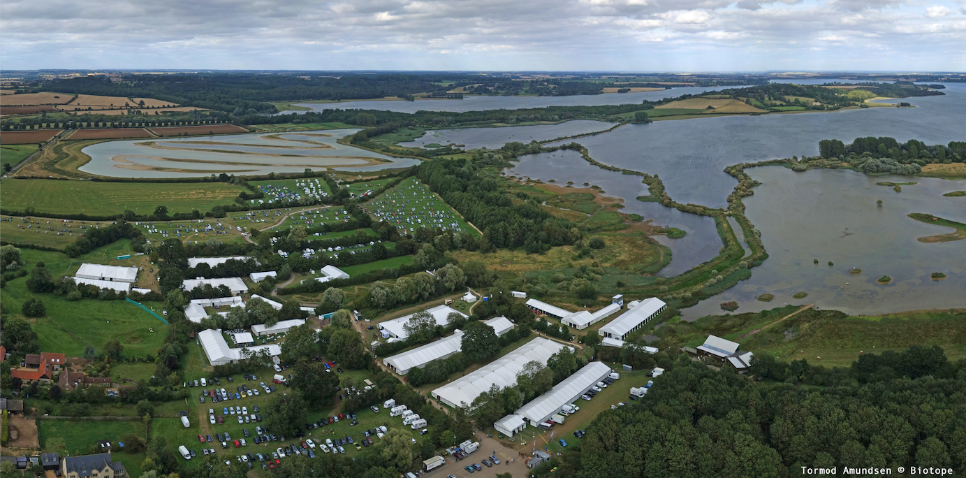 Rutland Birdfair, UK. The worlds biggest birdwatching tradeshow / event.