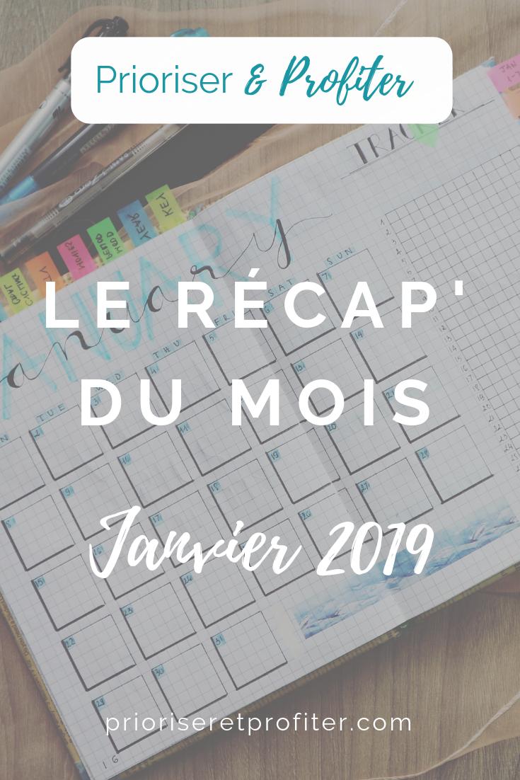 Récap Janvier 2019