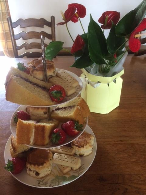 Traditional tea & cakes …