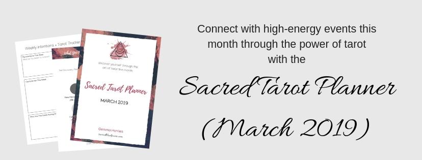 Sacred Tarot Planner
