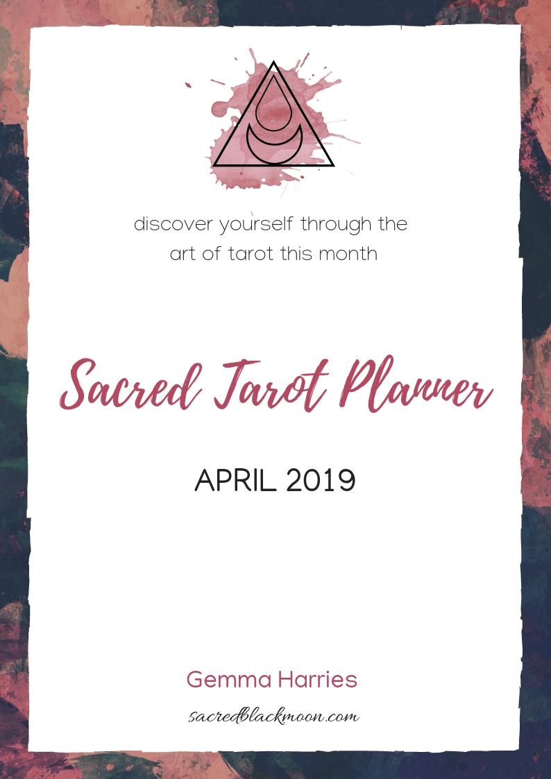 Sacred Tarot Planner April 2019.jpg