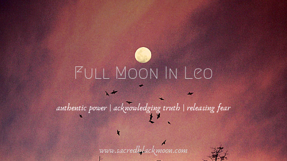 Full Moon In Leo
