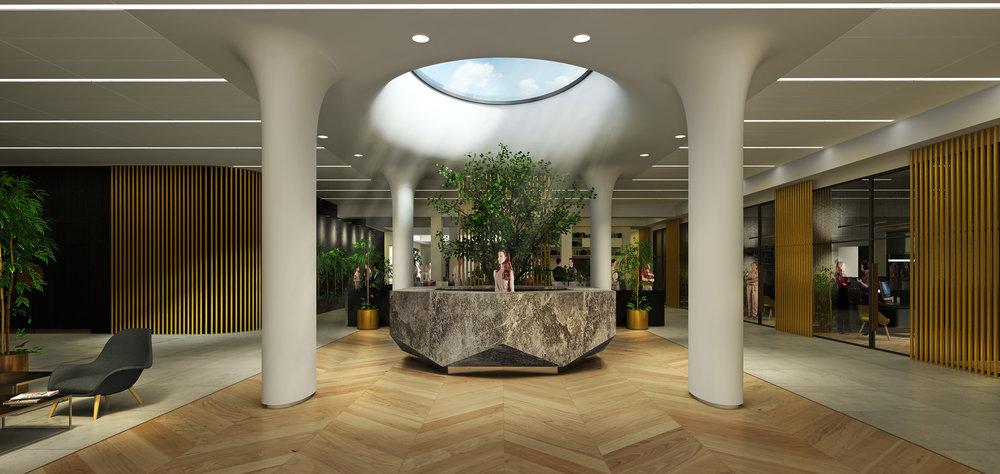 Mizzi Studio, AMS Headquarters, Reception.jpg