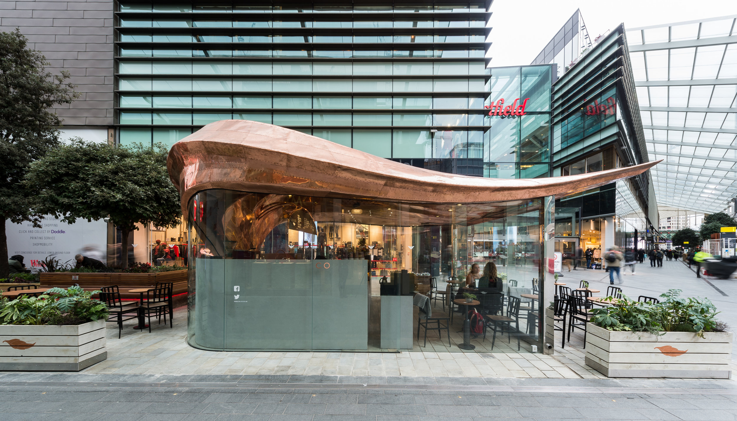 Colicci Café at Westfield Stratford