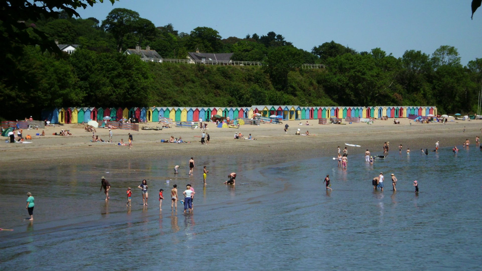 Llanbedrog beach (PHOTO CREDIT: National trust)