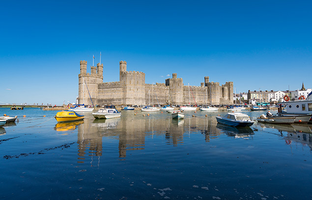 caernarfon castle (Photo credit: https://cadw.gov.wales)