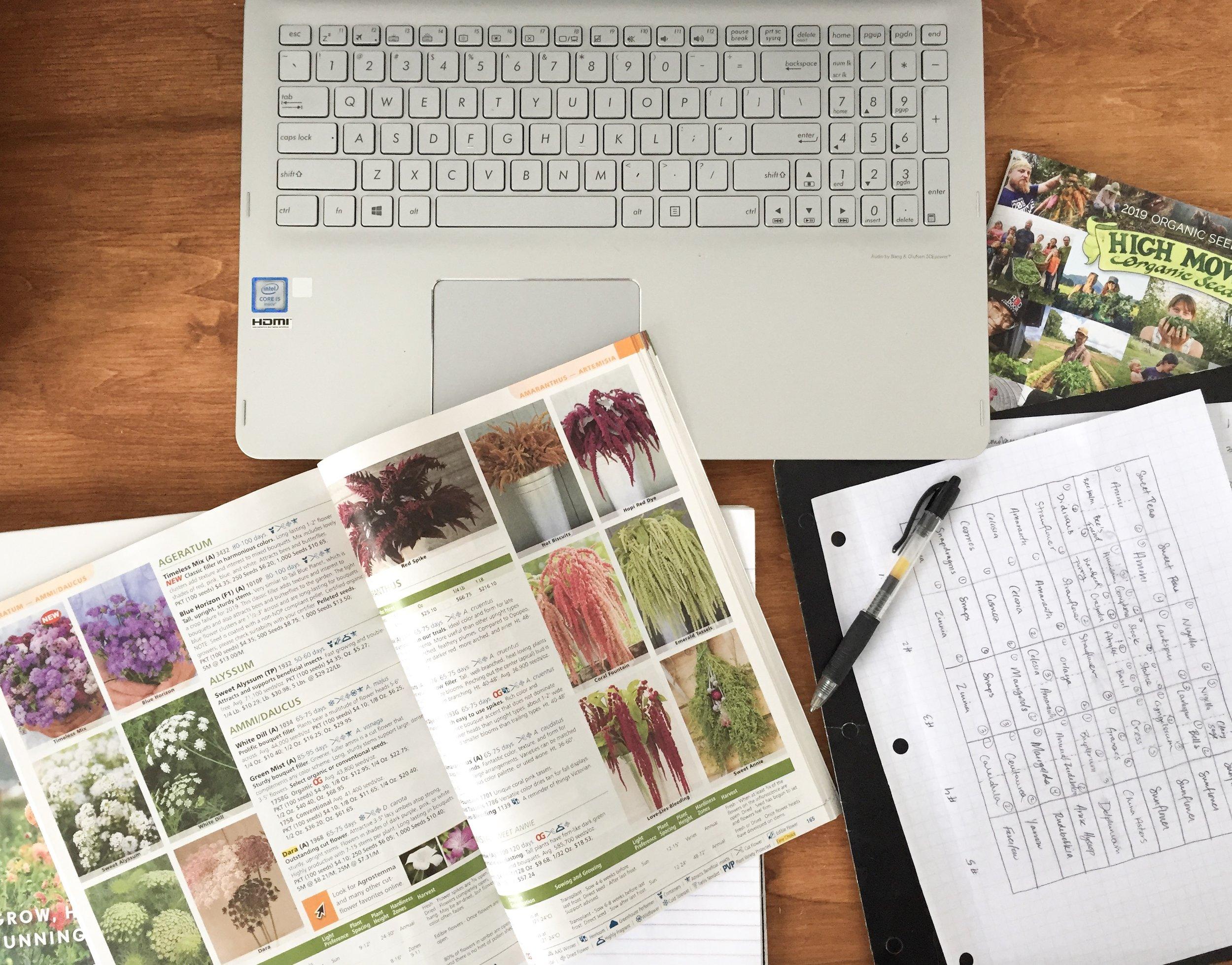So many seed catalogs…