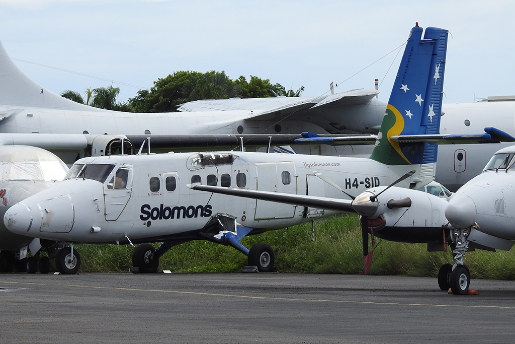 MSN 442 - DHC-6-300 H4-SID Solomon Airlines  Dave Hedges Photo © Cairns, QLD 01-Apr-2019