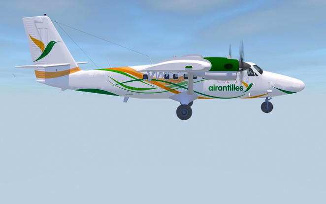 Air Antilles Becomes First Caribbean Series 400 Operator Photo 02.jpg
