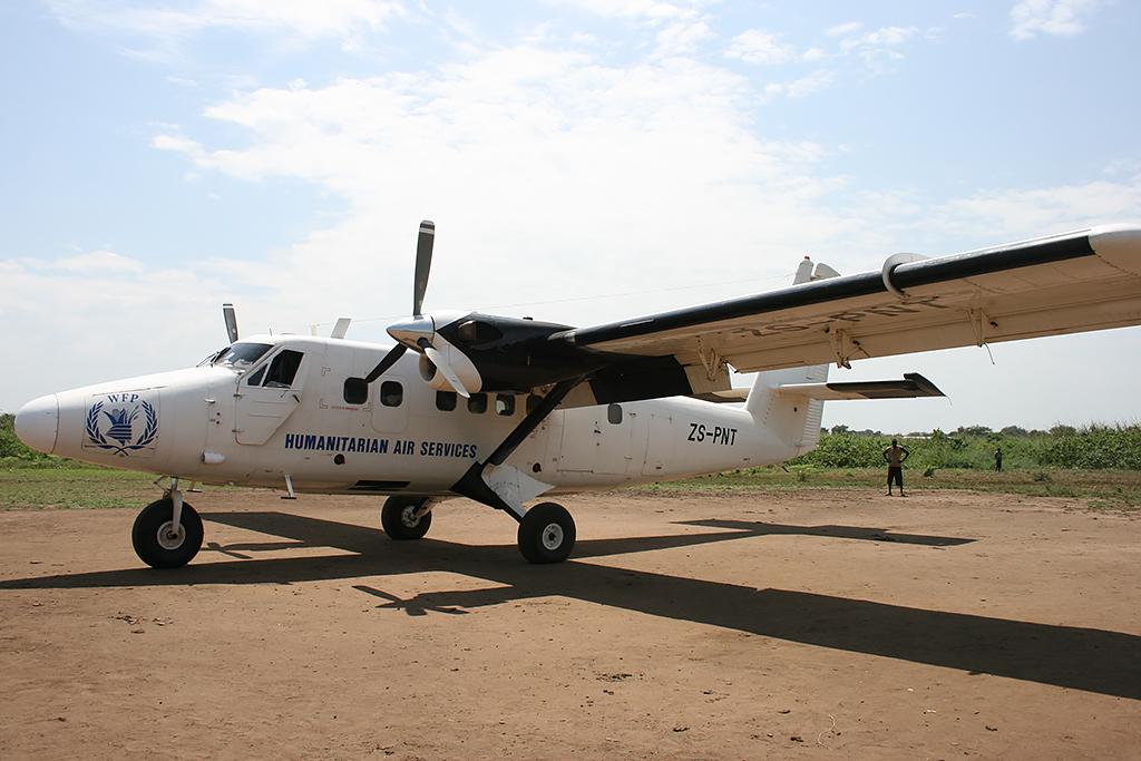 MSN 721 - DHC-6-300 ZS-PNT UNHAS/WFP
