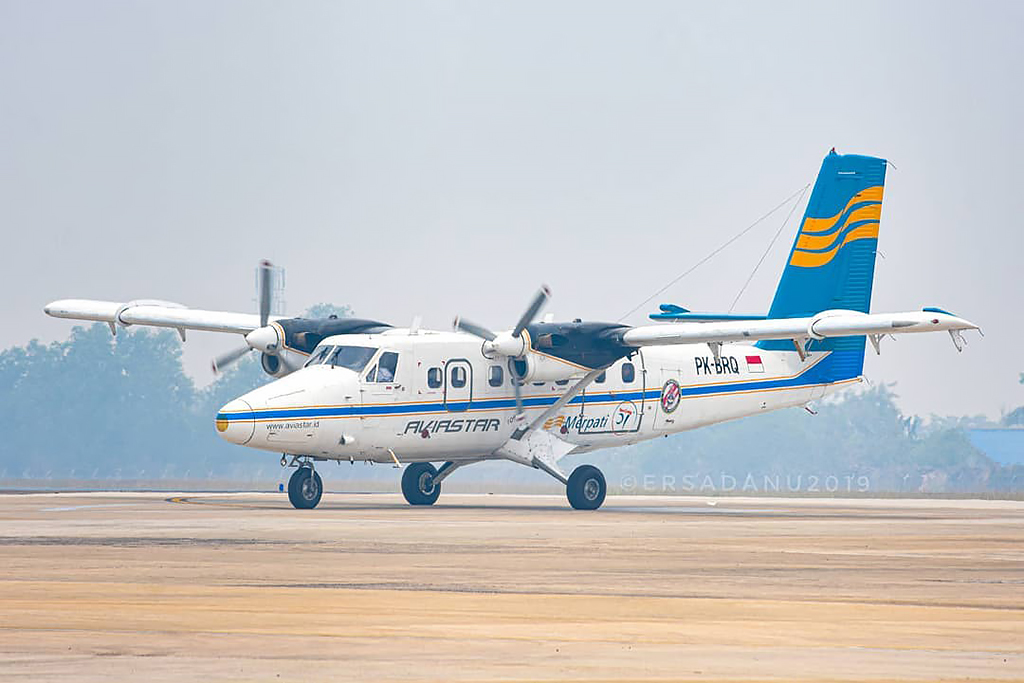 Ersadanu30 Photo © Palangkaraya  MSN 702 DHC-6-300 PK-BRQ  PT Aviastar Mandiri