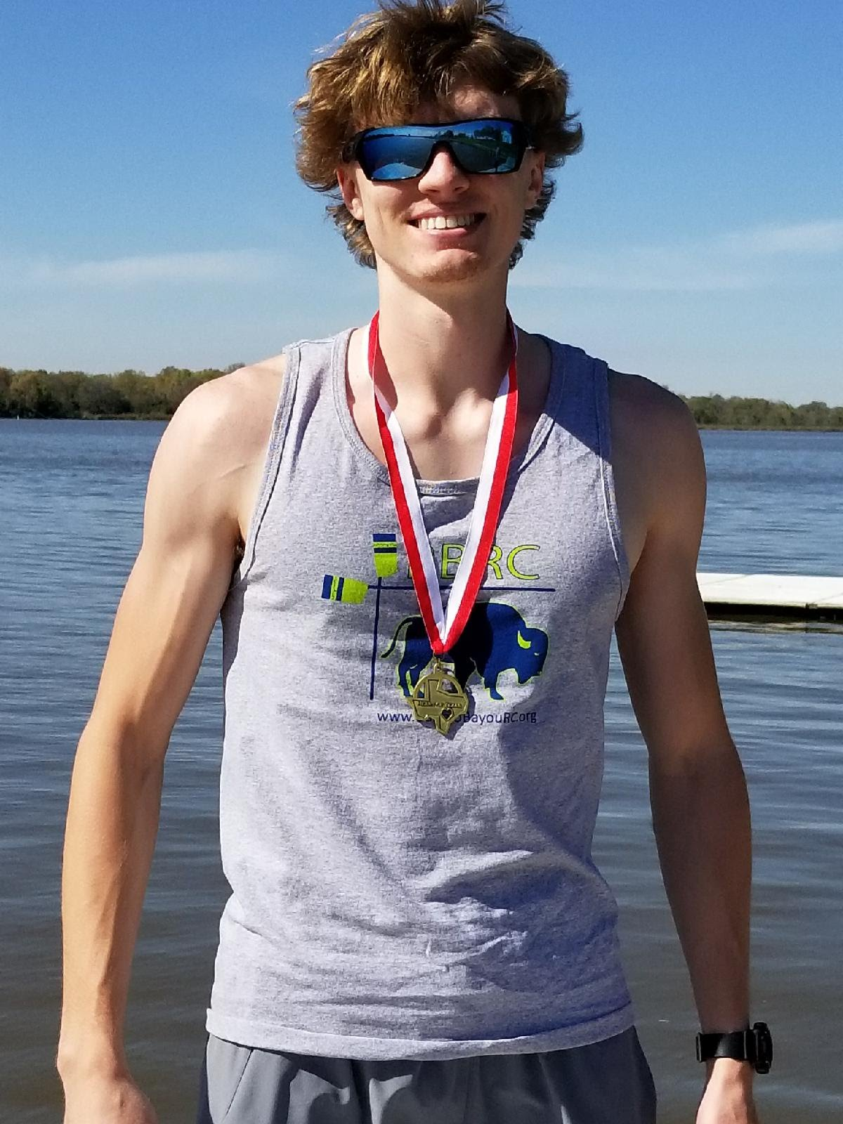 BBRC's first medal- 1st place. Heart of Texas 2018. W. Alexander