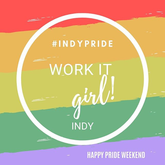 Happy Pride 🌈❤️ #indypride #pride #equality #indywelcomesall #pride19