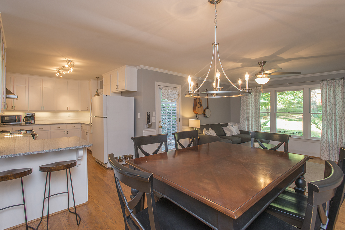 Sneak peek of the kitchen we remodeled!