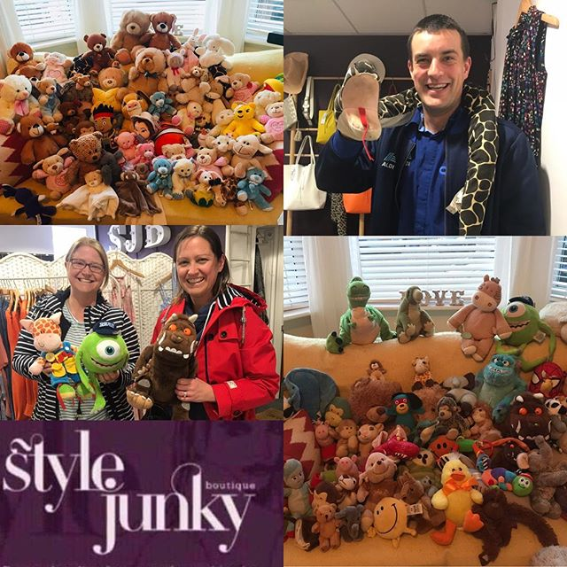When your bank holiday weekend is full of amazing arrivals! ❤️🧸each and every one of these little cuddle buddy's will soon be that irreplaceable friend!  We are so grateful for your support, 🙏❤️@stylejunkyboutique we nearly had more bears than clothes! 😂#bearlybears #weareone #teddybear #makeadifference #love #childrensmentalhealth #empowermentprogram #orphans