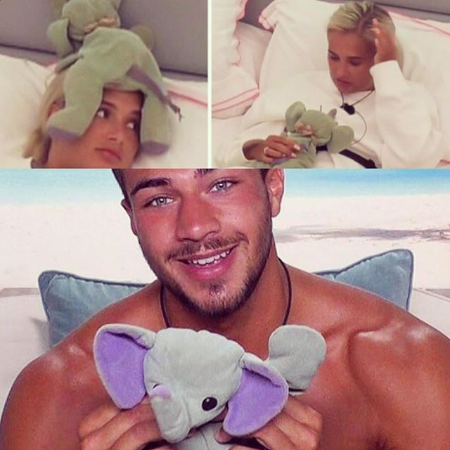 That something to hold onto when you need it most!  Our teddy hero #elliebelly @tommytntfury @mollymaehague  Wishing you both  lots of luck and love 🙌🏻🧸❤️ Our winners!! @loveisland @itv2 @allcocktimothy @gypsyking101  #love #itsthelittlethings #winners #love #cuddles  #bearlylovedbears #makeadifference #mentalhealth