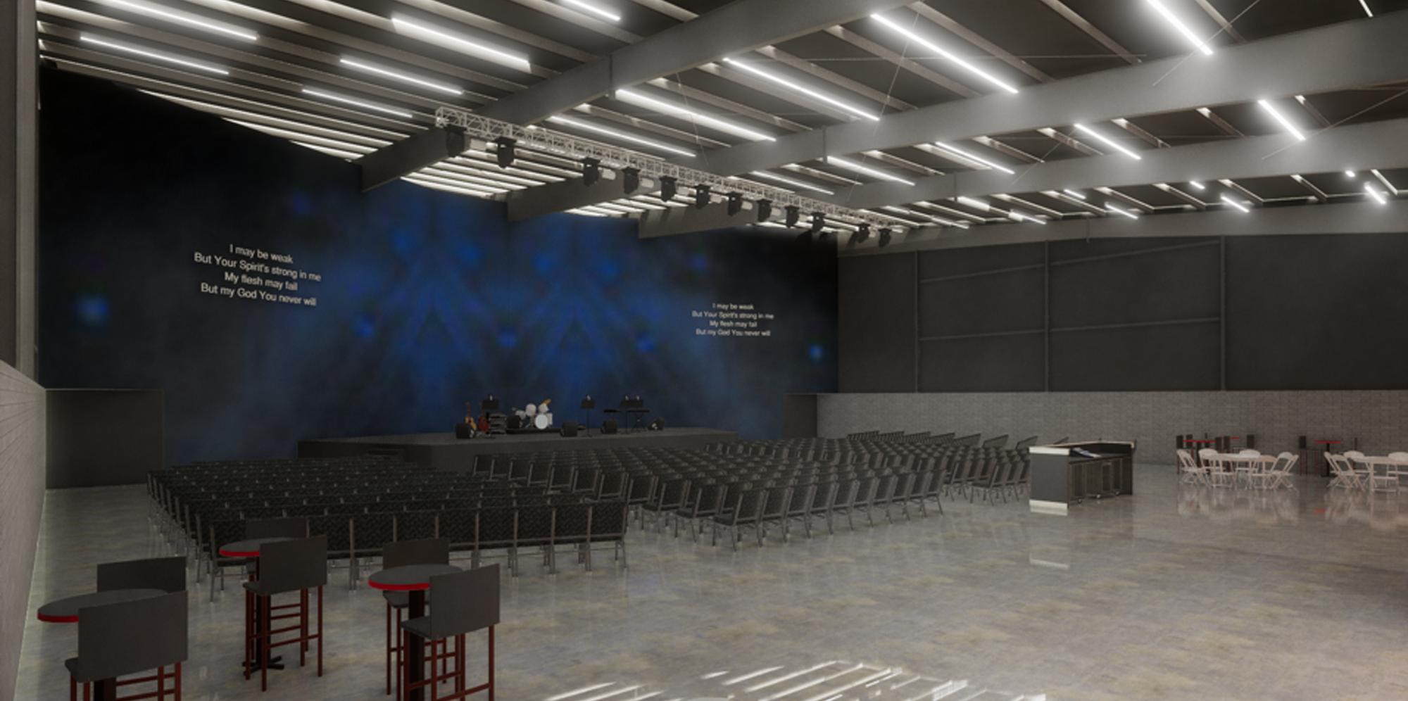 Multi-purpose Worship Space