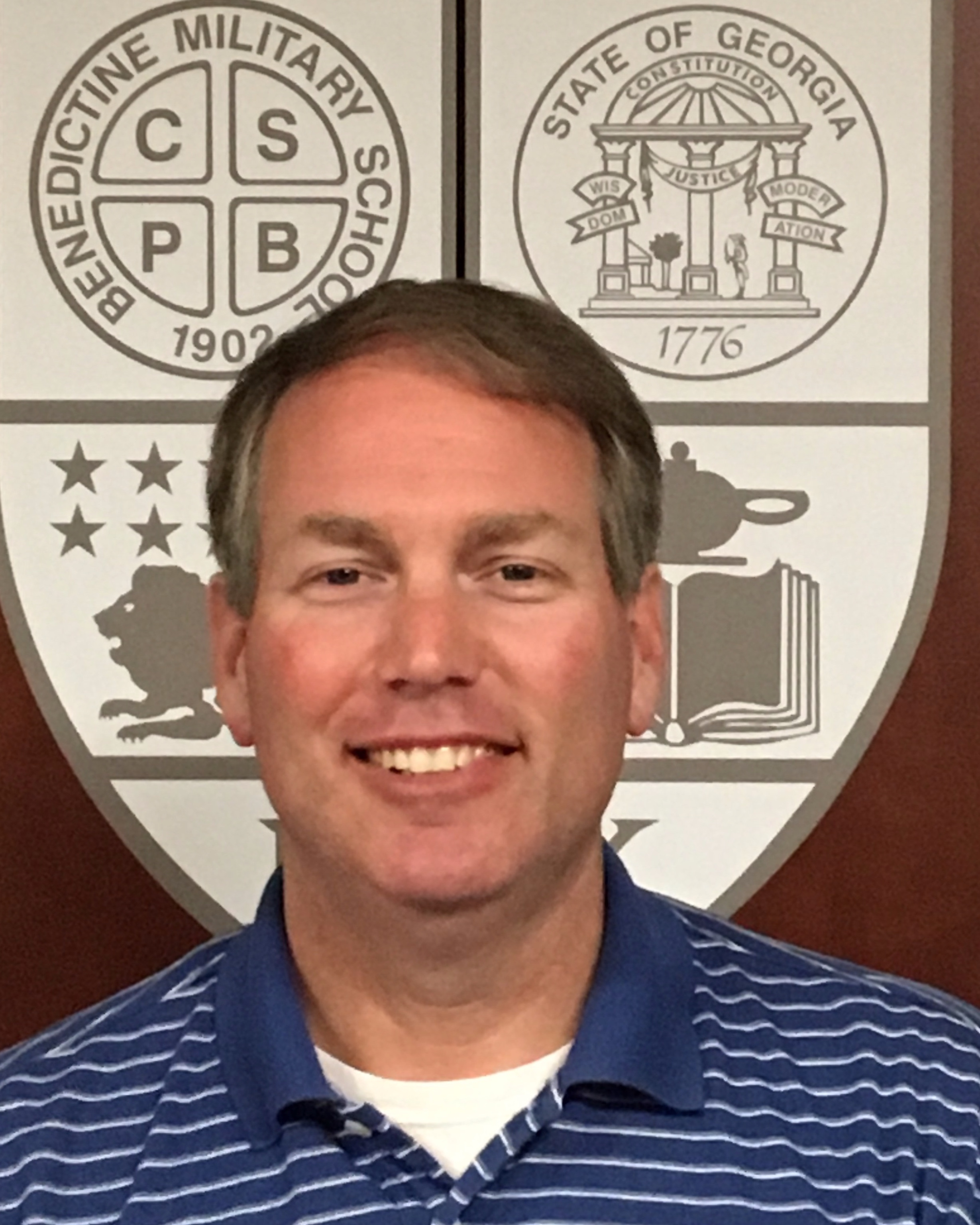 Greg Markiton, Advancement Director  Benedictine Military School