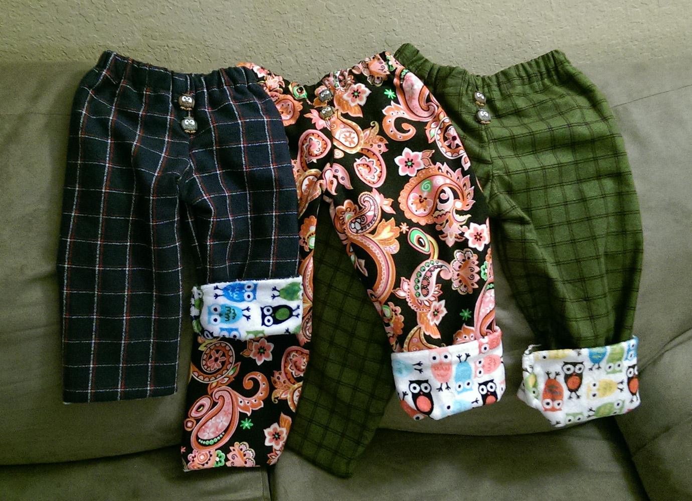 Children Pajama Bottoms