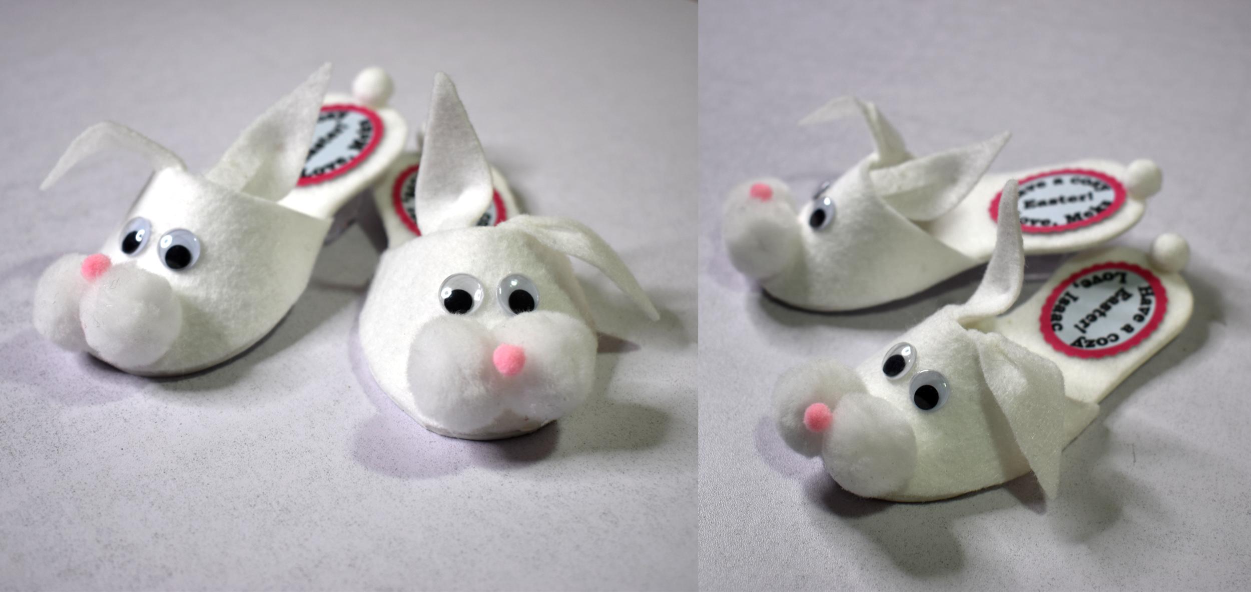 Bunny Slipper Favor