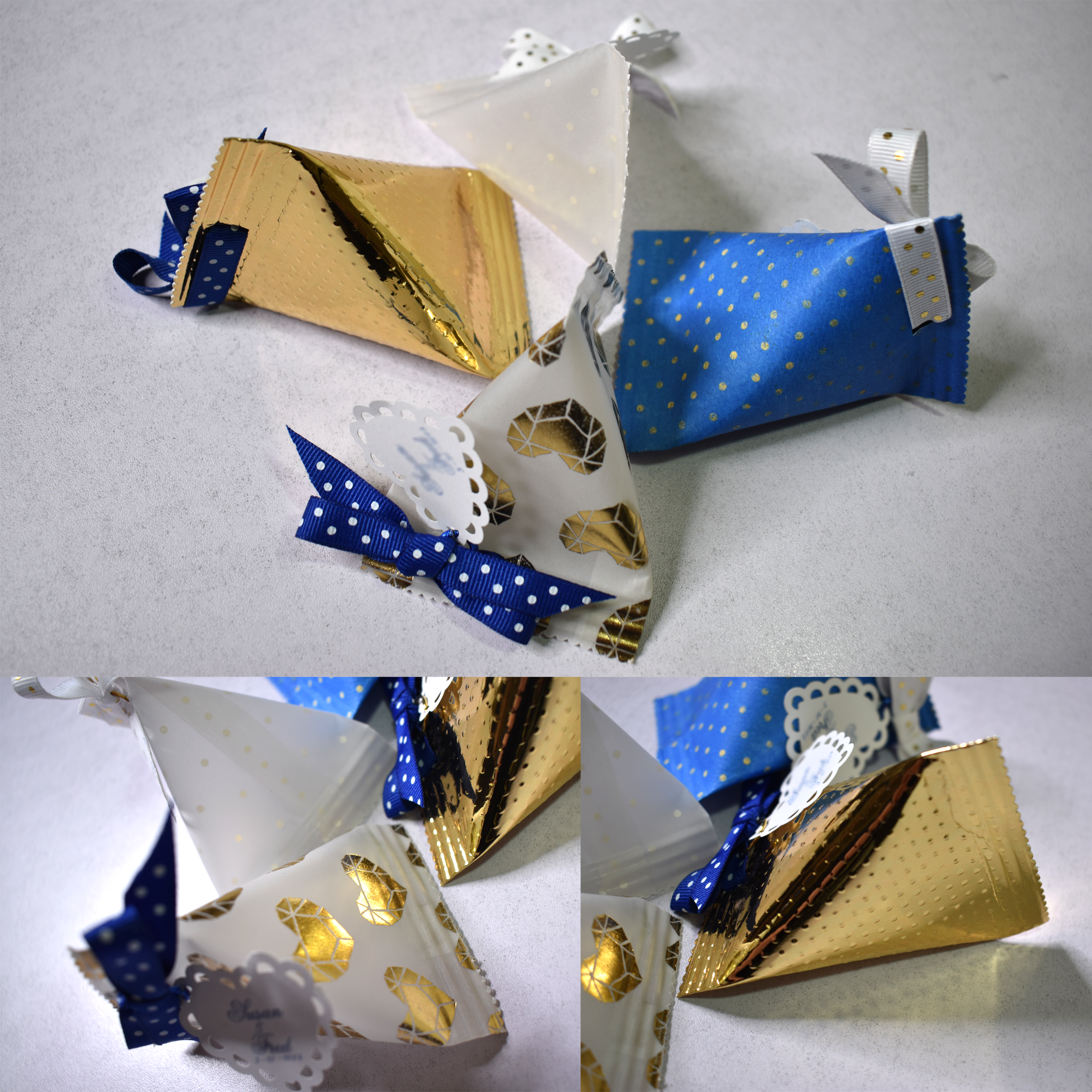 Sour Cream Packet Box Favors