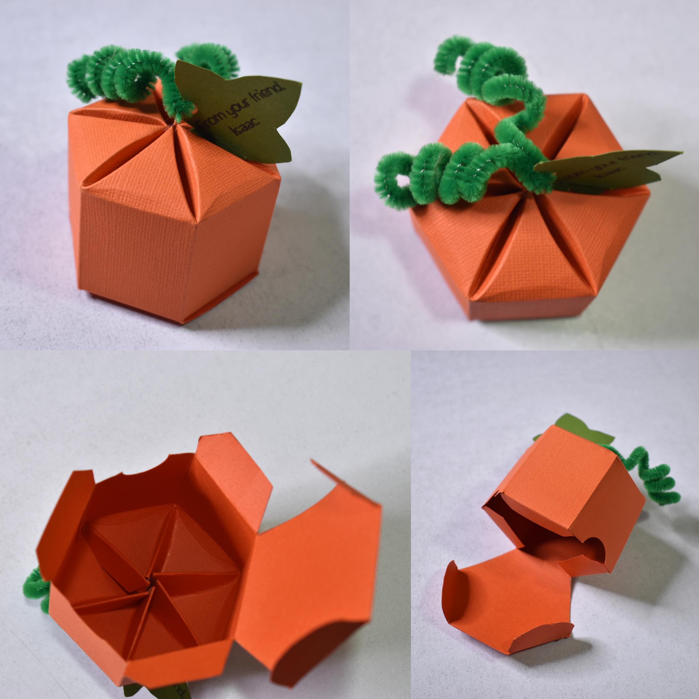Pumpkin Box Favor