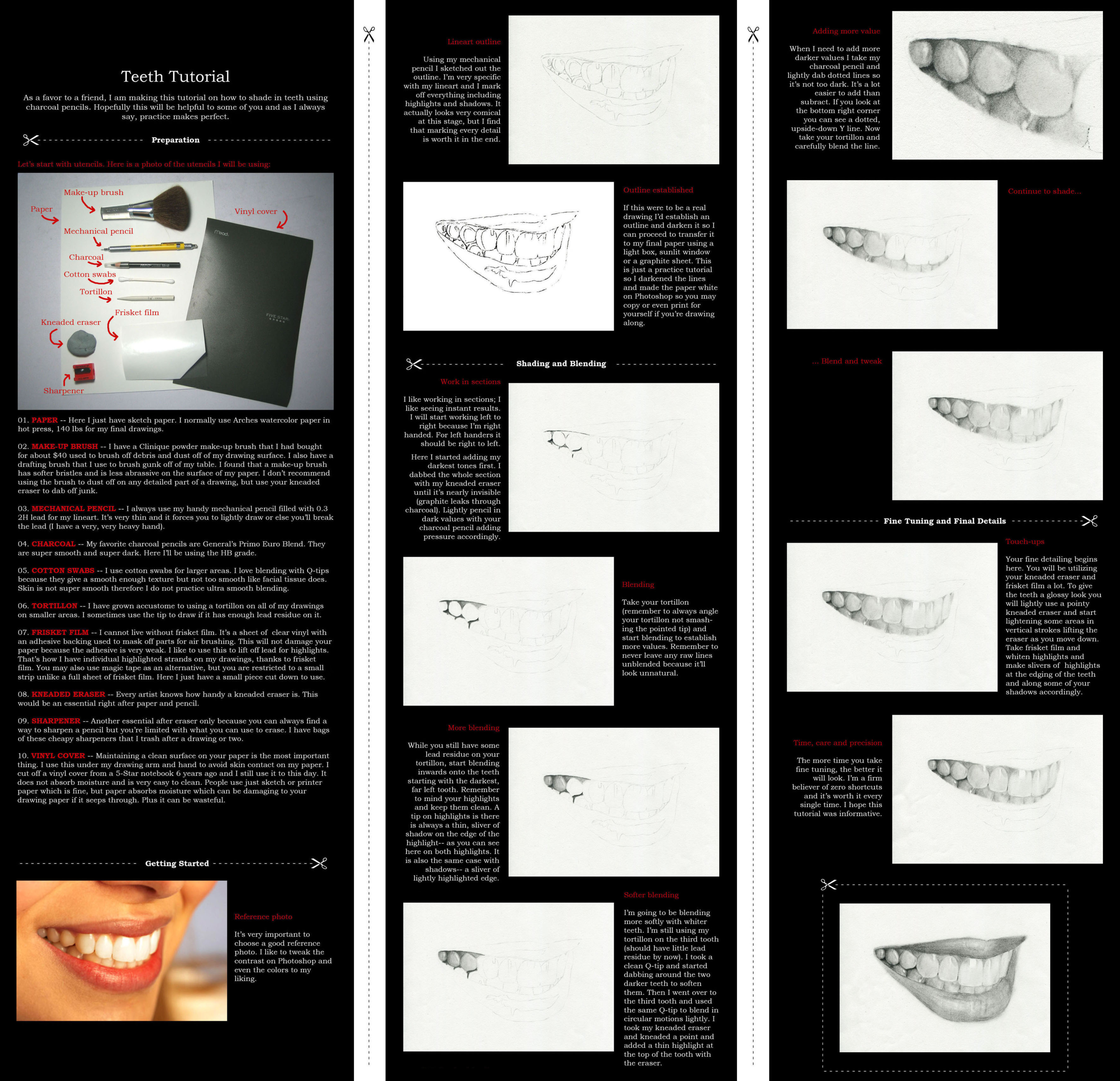 Teeth Tutorial