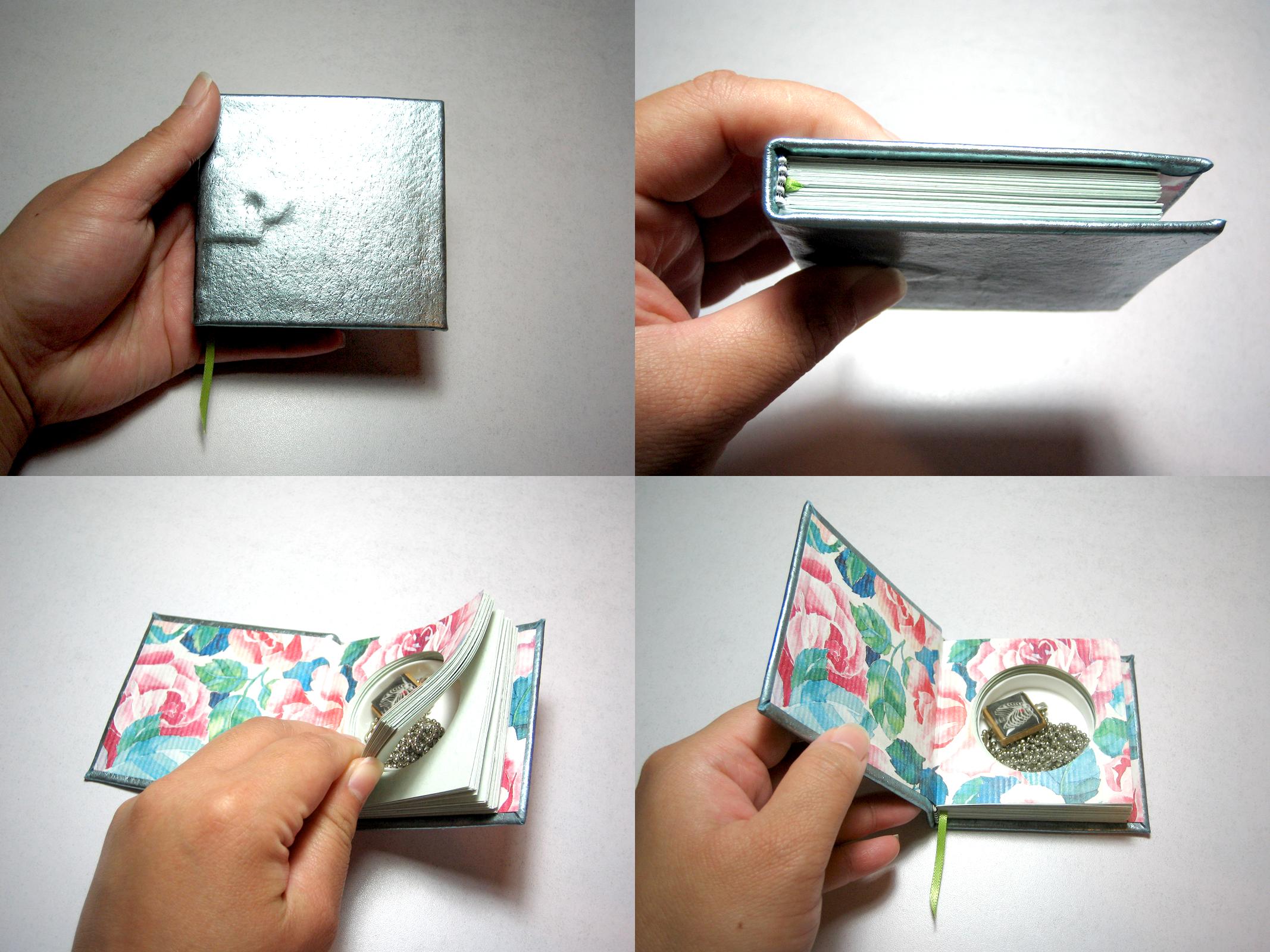 Secret Compartment Jewelry Box Book