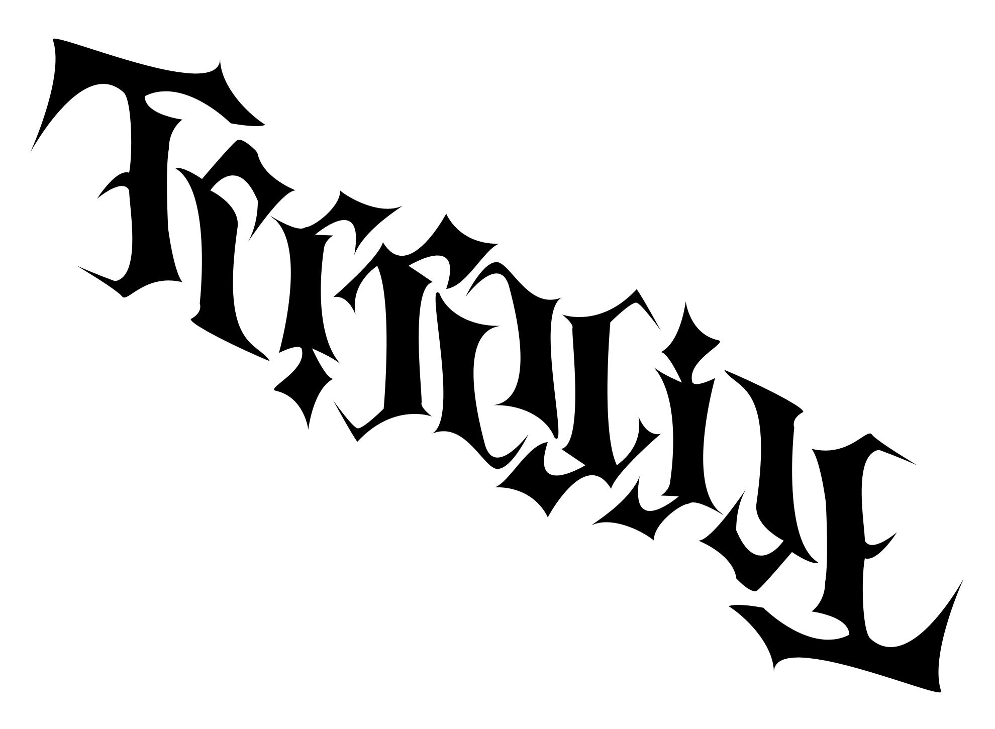 Terracide Ambigram