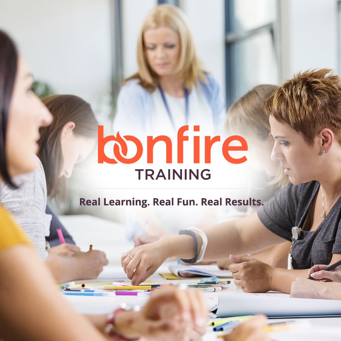 Bonfire Training - Web and Print Design