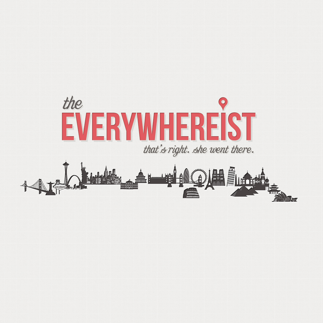 The Everywhereist - Branding and Website Design