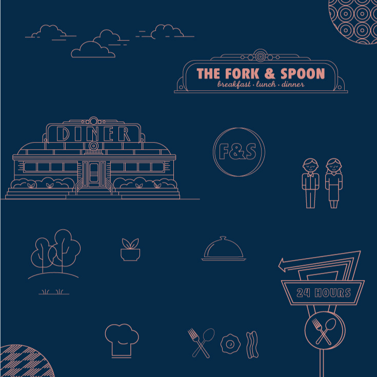 The Fork & Spoon - Branding