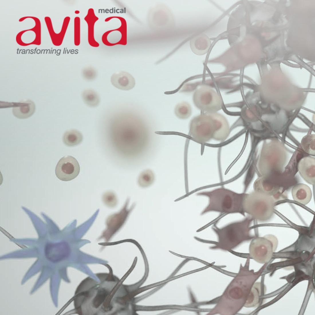 Avita Medical - Web Design