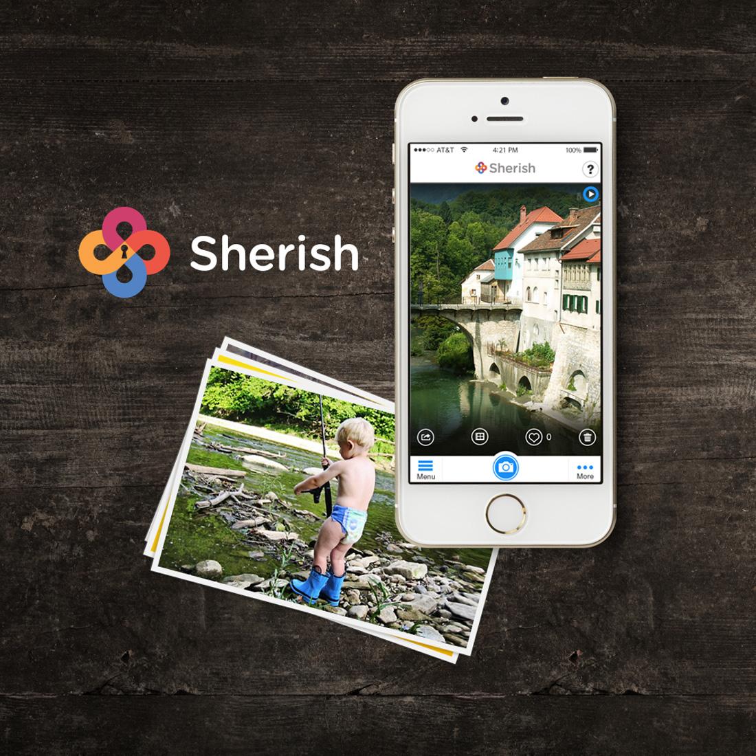 Sherish - Branding & Mobile App UX Design
