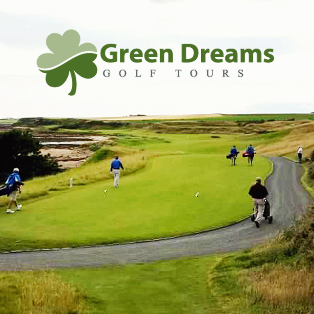 Green Dreams Golf Tours - Website Design