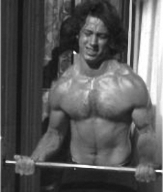 Age 20, Mike  as a bodybuilder.
