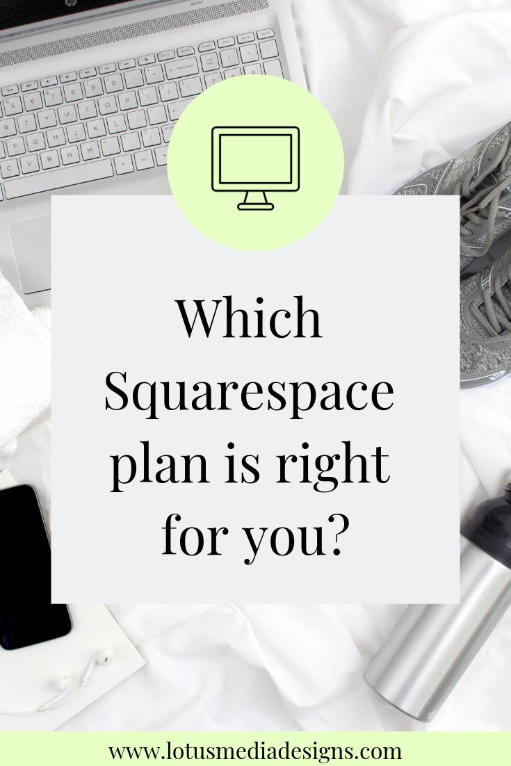 Squarespace Website Plans