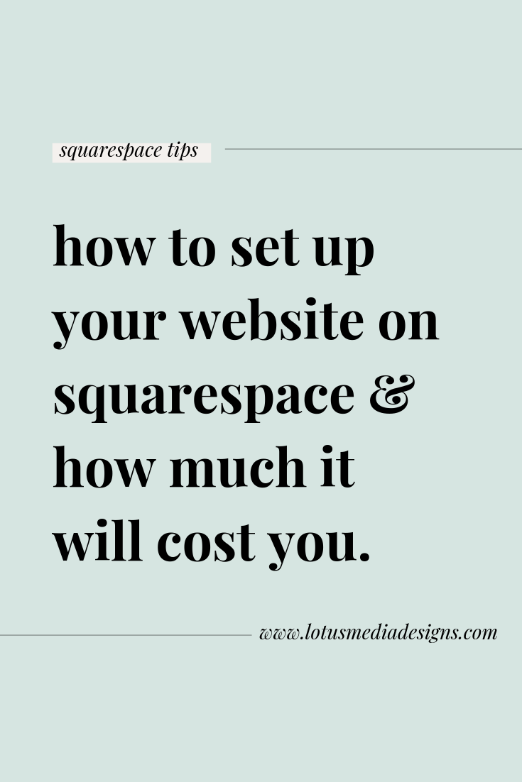 how to set up your website on wordpress and what it costs www.lotusmediadesigns.com