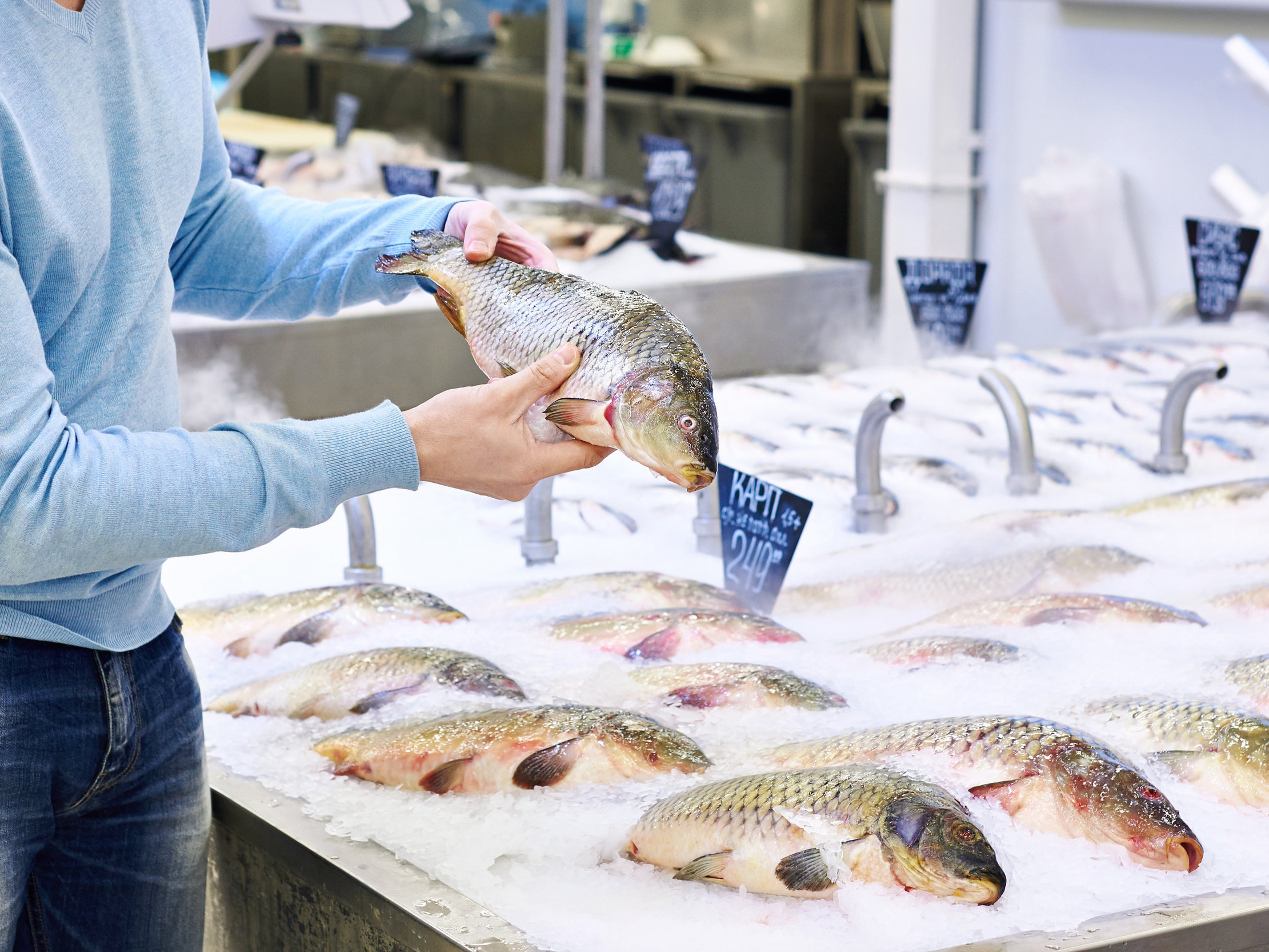 5 BLUE HABITS FOR SUSTAINABLE SEAFOOD -
