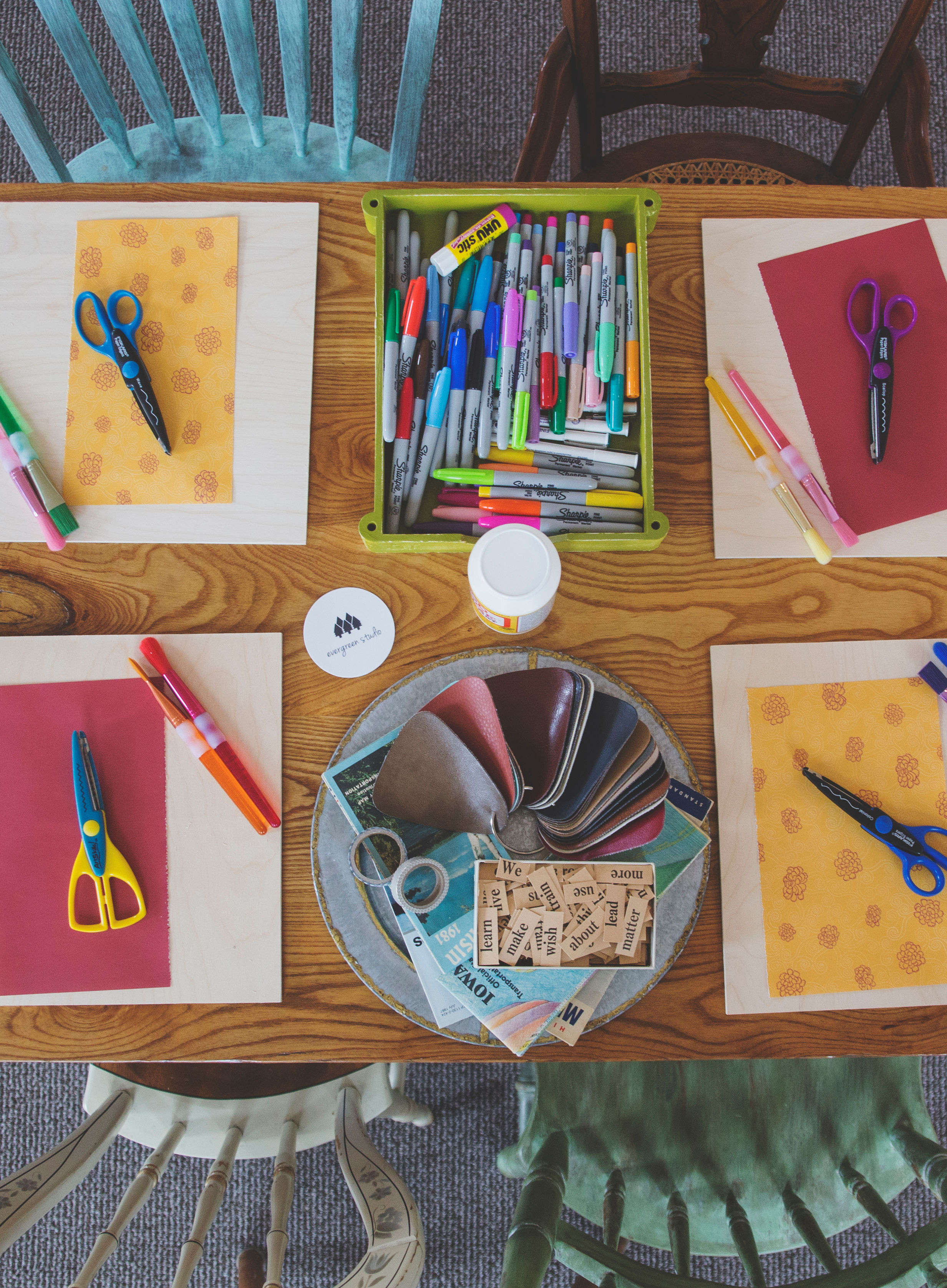 KidsOpen Studio - July 3rd, 10th, 17th, 24th - 3-4pm - $15.00What is Kids Open Studio?Open Studio times are a chance for children to think creatively and problem solve while being responsible for their own choices and ideas.They are invited to use materials in the studio to create their own ideas at their own pace.Stations are set up to stimulate creativity and the teacher supports ideas and facilitates projects.Kids Open Studio times are about having a safe, inspiring place to create!If you would like to leave your child at the studio during class, they must be 5 years or older. Any age can attend with parent help/supervision!Enrollment is limited to 15 per class. Please head to PAYMENTS page to register!