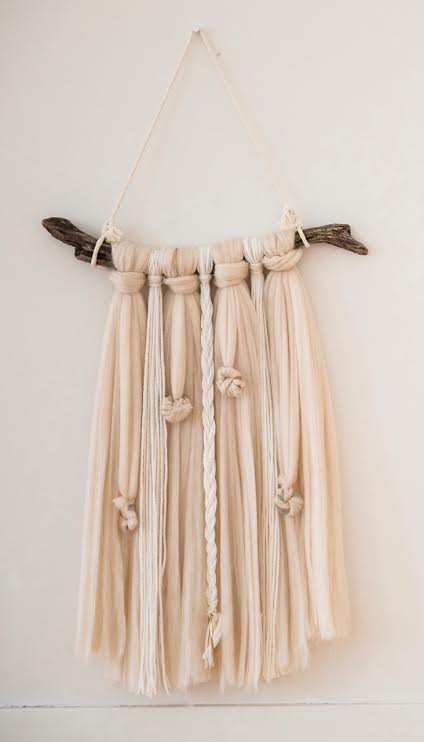 Ivory Wool Wall Hangings - July 7th 12-2pm - $45In this workshop you will create a wall hanging using an 18in wooden dowel, wool yarn, and your choice of regular yarn (many colors) and metal accents to personalize.Feel free to bring a piece of driftwood or branch if you like the look in the photo!Enrollment is limited to 5 per class. Please head to PAYMENTS page to register!