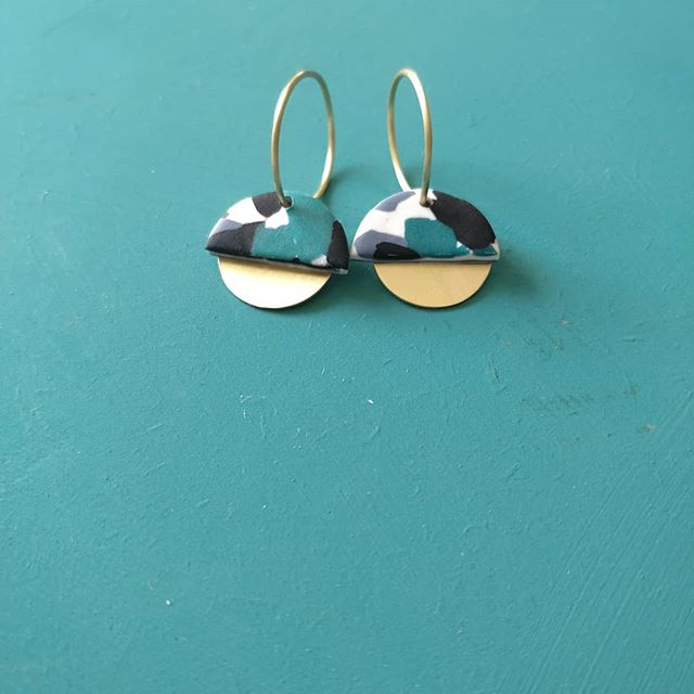 Working on a new hoop earring design today. What do you think?