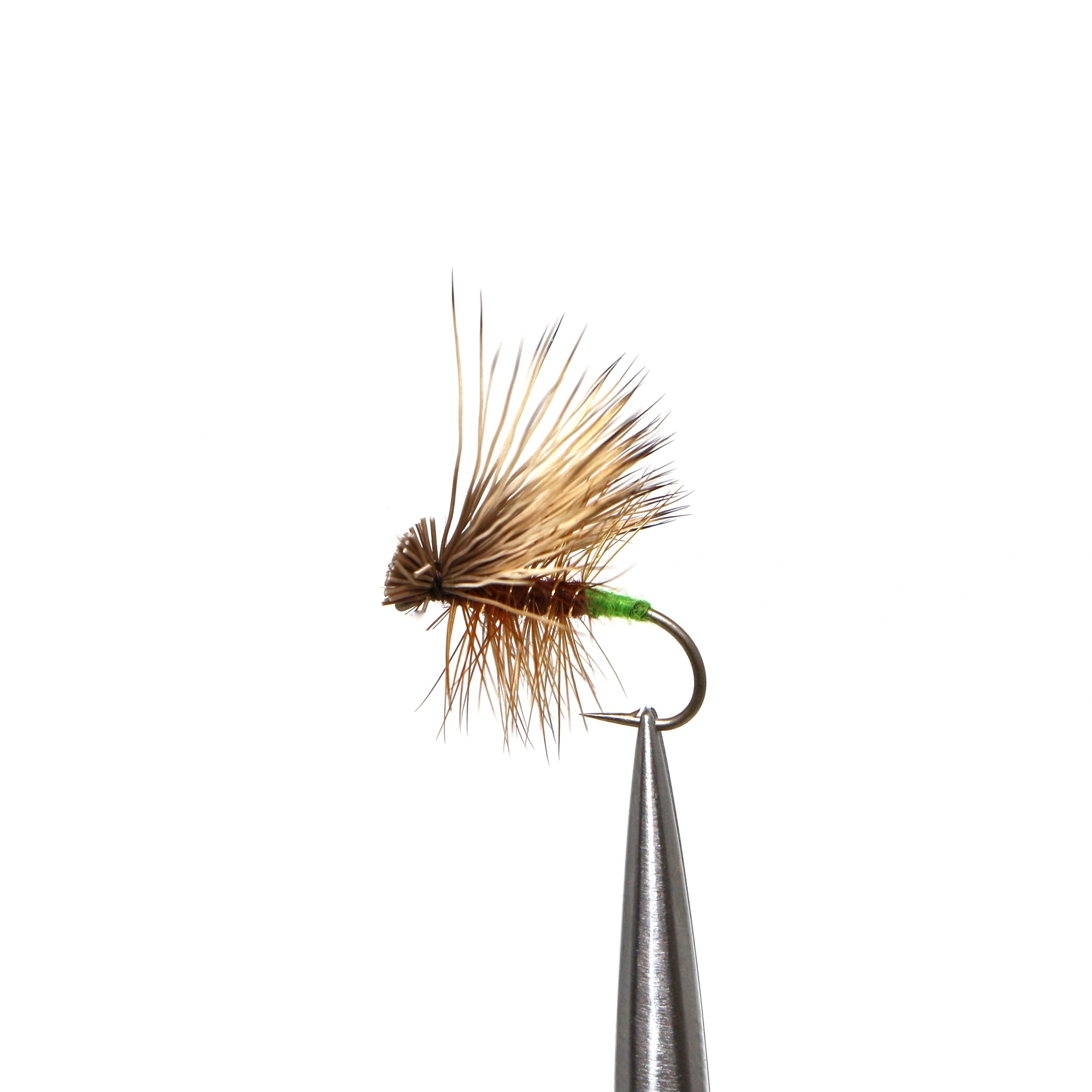 Elk Hair Caddis  https://ironbowflyshop.ca/products/elk-hair-caddis