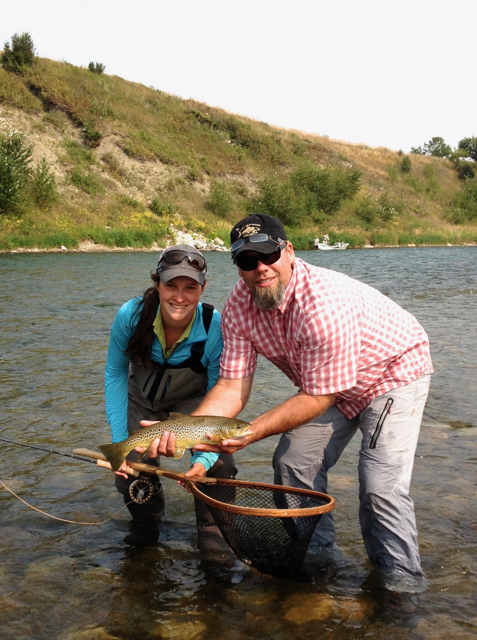 The Intermediate Bow River School:  https://www.ironbowflyshop.com/intermediate-fly-fishing-1